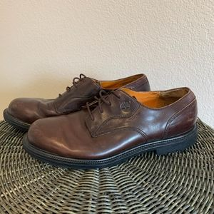 Timberland mens waterproof Oxford leather shoes